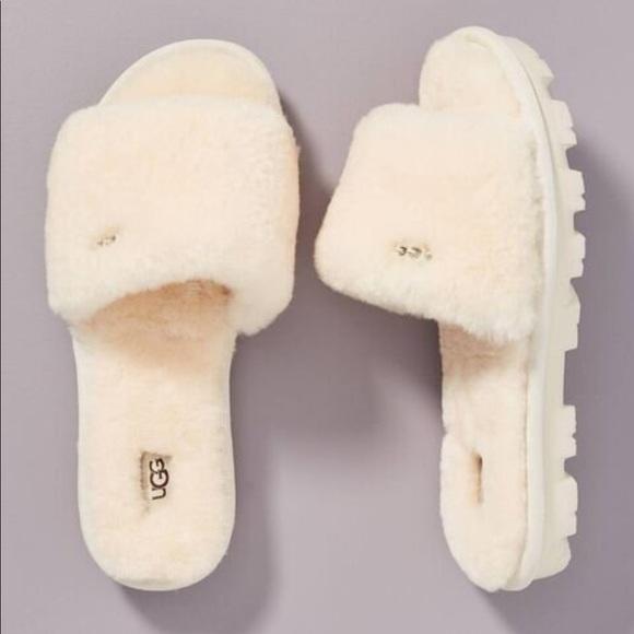 UGG Shoes   Nib Cozette Slide Natural 8